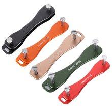 NEW Outdoor Tools Small EDC Aluminum Hard Oxide Key Holder Clip Keys Organizer Folder keychain L2