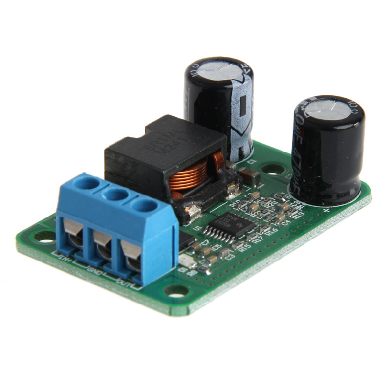 24 V/12 V For <font><b>5</b></font> V/<font><b>5A</b></font> 25 W <font><b>DC</b></font>-<font><b>DC</b></font> Synchronous Buck Step Down Module Converter image