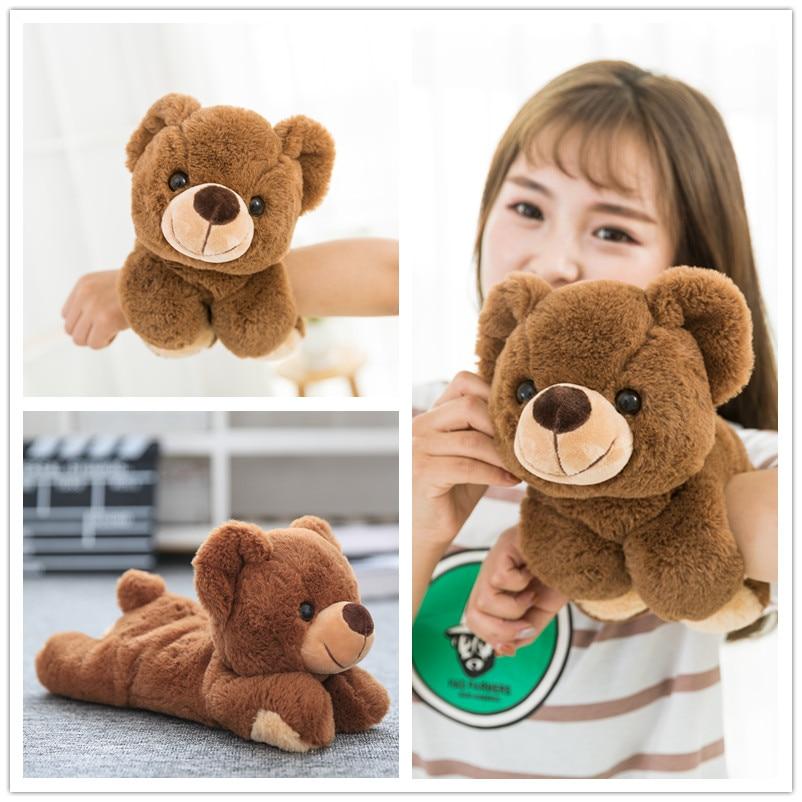 Die heißesten transformation Magie Handgelenk Bär & Panda & Elephant Plüsch Spielzeug Qualität baumwolle stofftier spielzeug Klaue spielzeug