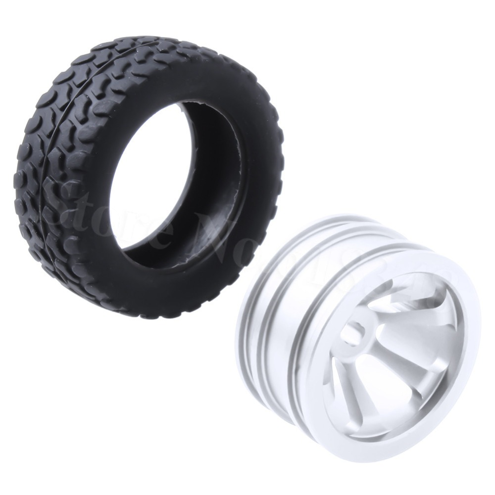 RC Upgrade parts Aluminum Tires & Wheels (Al.) For WLtoys 1/28 RC Car K969 K989 K999 P929 4WD Short Course Drift Off Road Rally