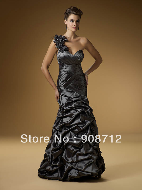 Hot Sell One Shoulder Sweetheart Romantic Prom Dresses Special