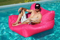Extra large floating bean bag , Giant pool side beanbag chair on the water, outdoor furniture sofa chair Pink