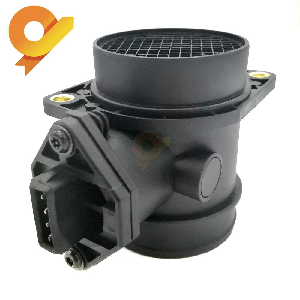 Luftmassenmesser Sensor MAF Für VW VOLKSWAGEN Bora Golf III IV GTI Jetta IV Passat Sharan 2,0 1,8 t 95-02 037906461C 0280217117