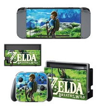 Hot Game Sticker For The Legend of Zelda For Nintendo Switch Console and Controlle Protective Skin Vinyl Full Wrap Decal