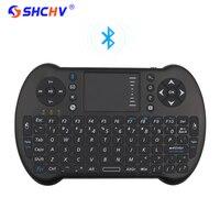 Bluetooh Wireless Mini Teclado Mouse Touchpad Controle Remoto Keyborad Android TV caixa Do Portátil para Laranja RPI Pi para o iphone 6 7 3