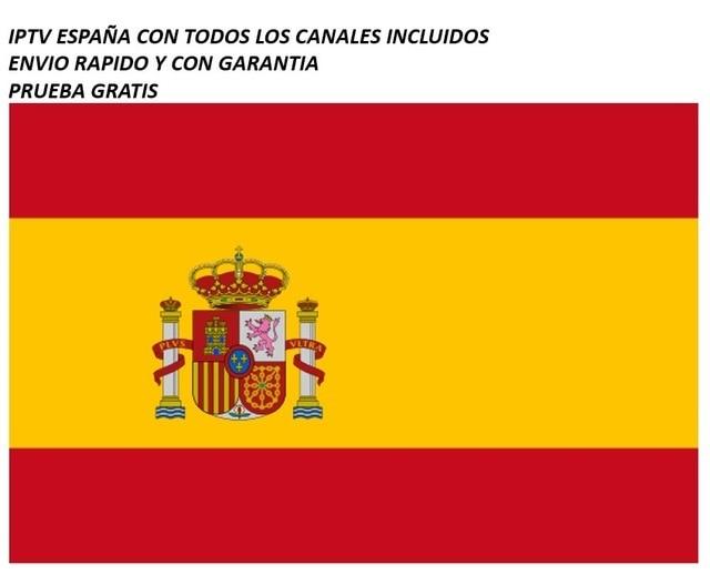 IPTV ESPANA דה בלתי ANO INCLUYE TODOS LOS קנאלס PARA VER כדורגל, דפורטה, CINE, וכו '. קון GARANTIA אל 100%