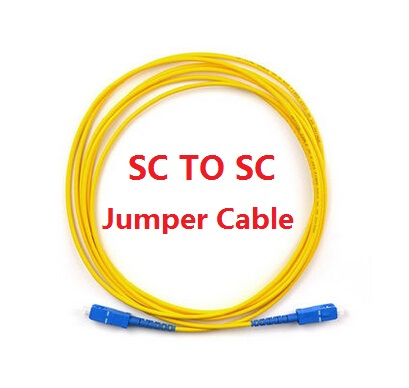 10PCS SC to SC Fiber Patch Cord Jumper Cable in Yellow SM Simplex 3M Single Mode Optic for Network CCTV IP SYSTEM sc to sc fiber patch cord jumper cable sm simplex single mode optic for network cable 3m 10ft 5m 16ft 10m 33ft