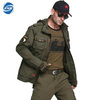 Force Bomber Army Tactical Jackets Men Winter Autumn Combat Multi Pocket Coat Hoodies Windbreakers Military Sport