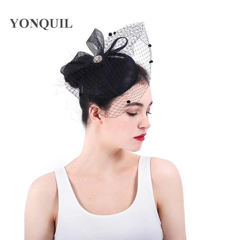 Wedding Hairstyle With Headband: Aliexpress.com : Buy Bridal Sinamay Hair Fascinators
