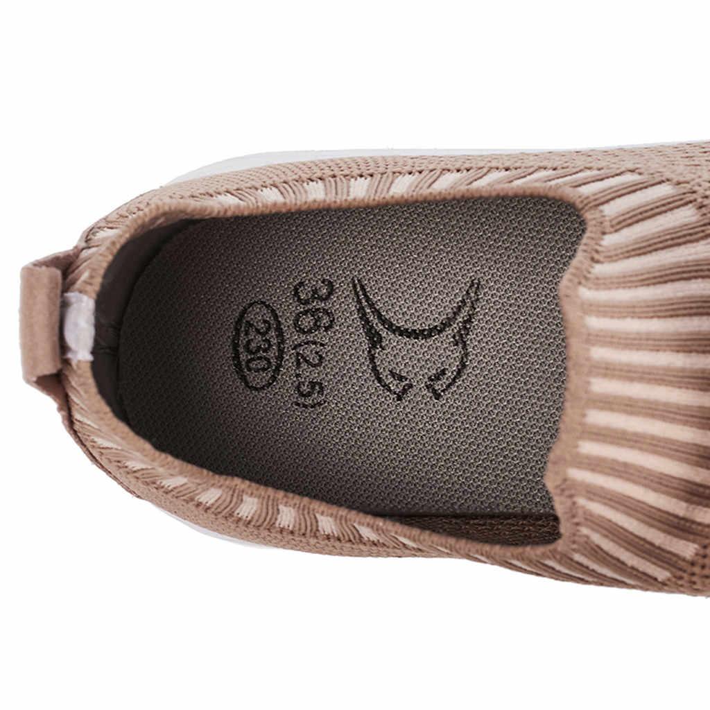 ผู้หญิง Breathable ตาข่าย Vulcanize รองเท้าฤดูร้อนฤดูใบไม้ร่วงกลางแจ้งฟิตเนสวิ่งรองเท้าผ้าใบสีชมพู lace up รองเท้าขนาดใหญ่