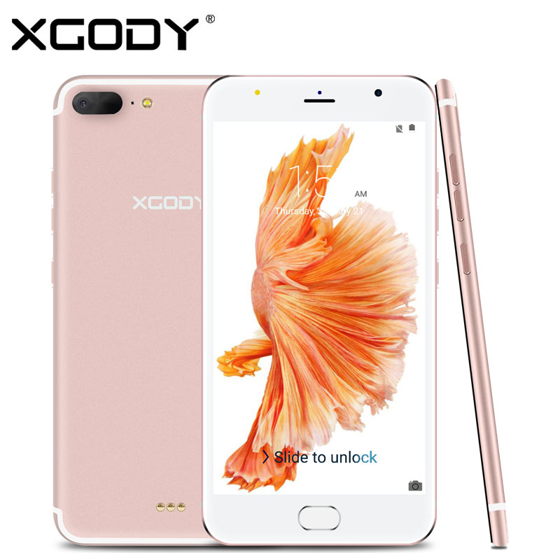 XGODY D11 5 5 inch 3G Smartphone MT6580 Quad Core 1GB RAM 8GB ROM Android 5