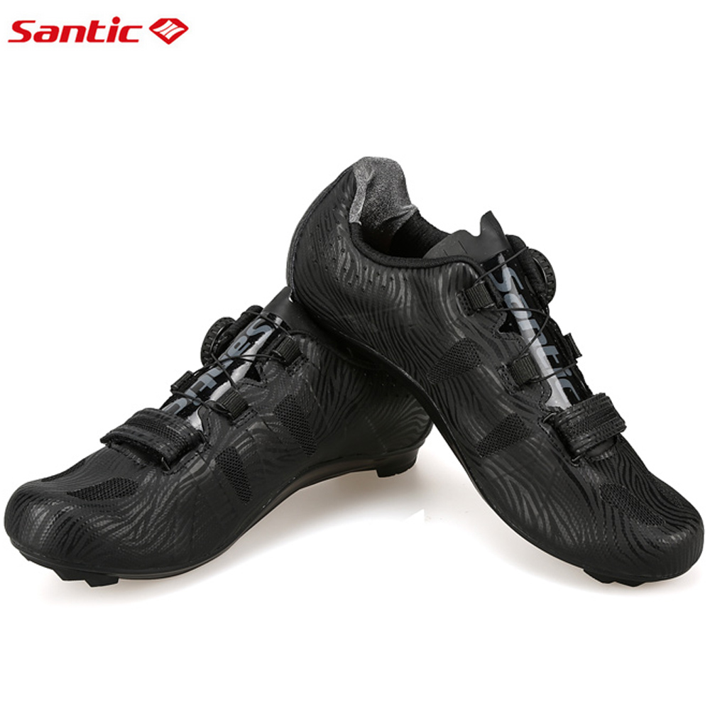 2017 Santic Men Road Cycling Shoes PRO Bike Road Shoes Self-Locking Breathable Athletic Bicycle Lock Shoes Sapatilha Ciclismo santic men cycling shoes tpu athletic self locking sports triathlon road bicycle bike shoe sapatillas ciclismo chaussure velo