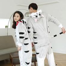 Queso Gato Pijamas Unisex ropa de Dormir de Franela Con Capucha Cosplay Onesies Pijamas Animal Lindo de la Historieta Con Capucha Para Hombres Mujeres
