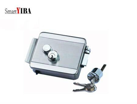SmartYIBA Access Control Electric Lock Door Opener Metal Electronic Door Lock For Door Entry System Doorbell Accessories