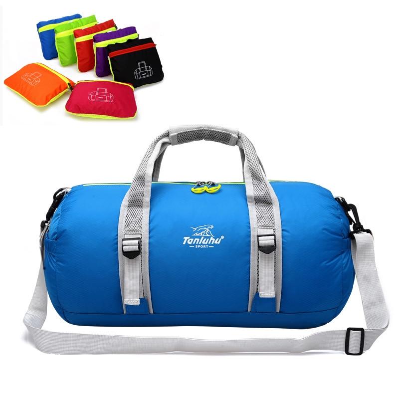deportiva nylon bubny pánské velký skládací zavazadlový vozík - Cestovní tašky