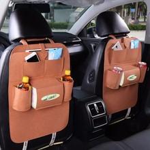 LDAJMW Hot Car Back Seat Storage Organizer Multi Pocket Travel Storage Bag Three-dimensional Type Design Pocket cheap Lagerung Taschen Dreidimensionale Art Hinter Doors On Wänden SQUARE Draht 6 5 Bedingung Umweltfreundlich Faltung 56*38cm