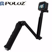Для GoPro Hero Интимные аксессуары puluz 3 способ плавающей ручка крепление штатива селфи палка для Go Pro Hero 5 4 3 + 3 2 1