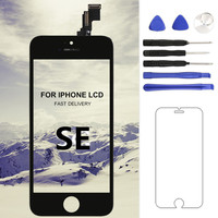 AAA And Shenchao Quality Touch Screen For Iphone SE LCD Display Black White Screen Assembly Phone