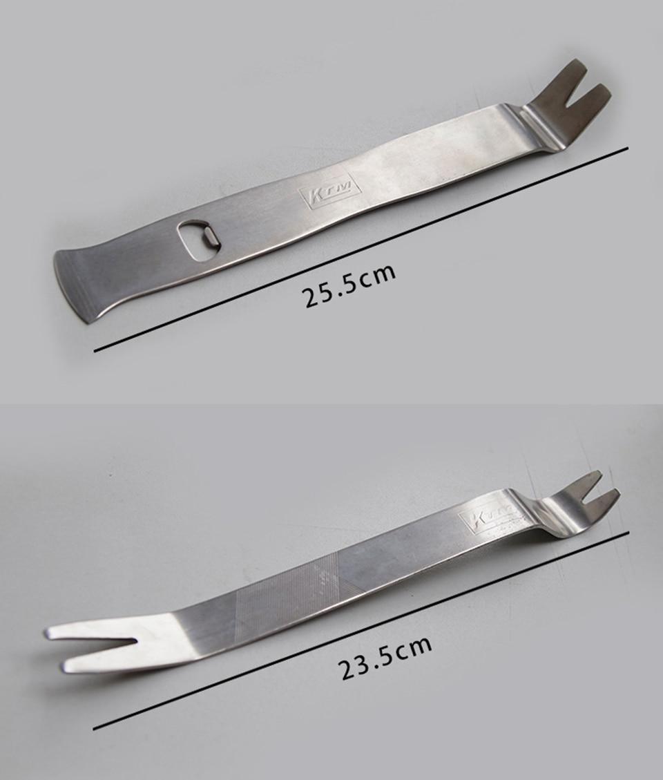 Astro Pneumatic tool Car Panel Remover Kit Audio Dash Removal Plastic Pry Tool Trim Fastener Molding Remover Tool 6PcsMX 499N