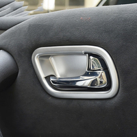 MONTFORD Interior Door Handle Bowl Cover Trims Auto For Nissan Armada Patrol Royale Nismo Infiniti QX56