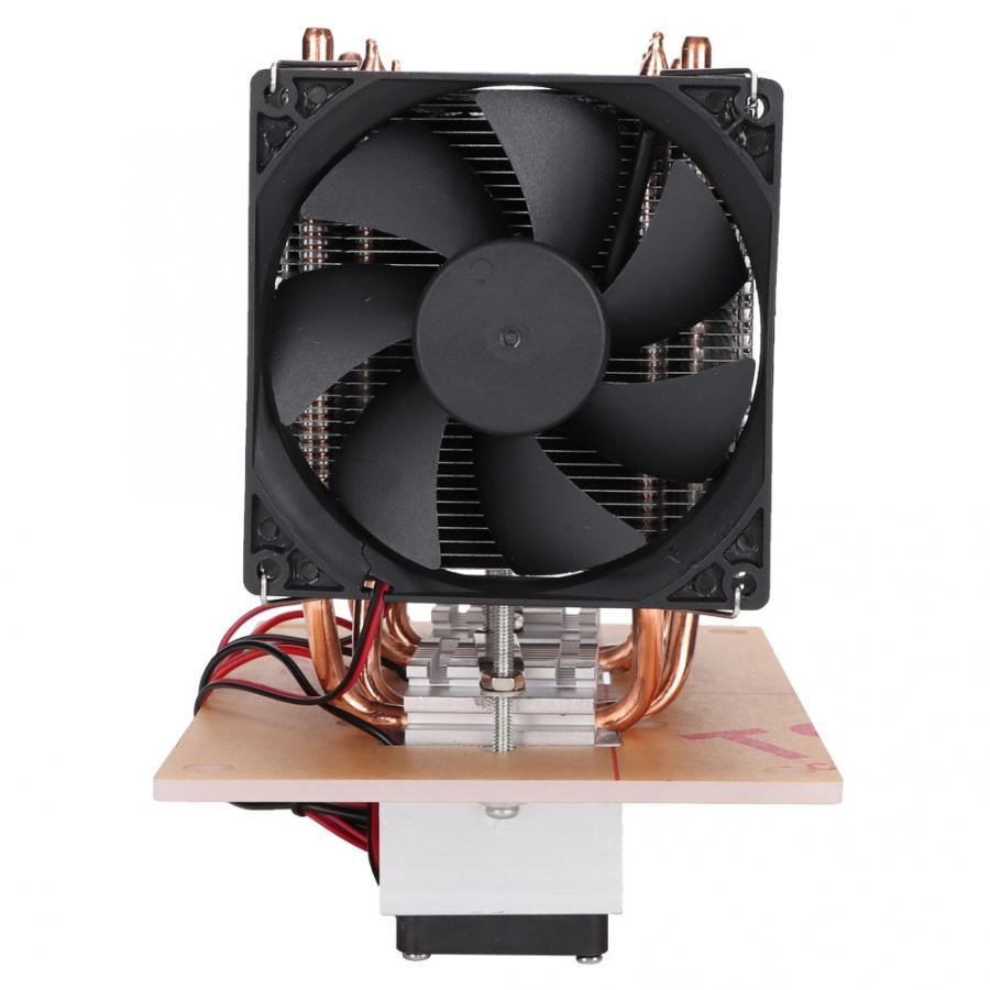 Ventilateur refroidissement ventilateur LED refroidissement pour Pc 12 V bricolage 12A 144 W électronique semi-conducteur réfrigérateur Double Kit ventilateur - 3