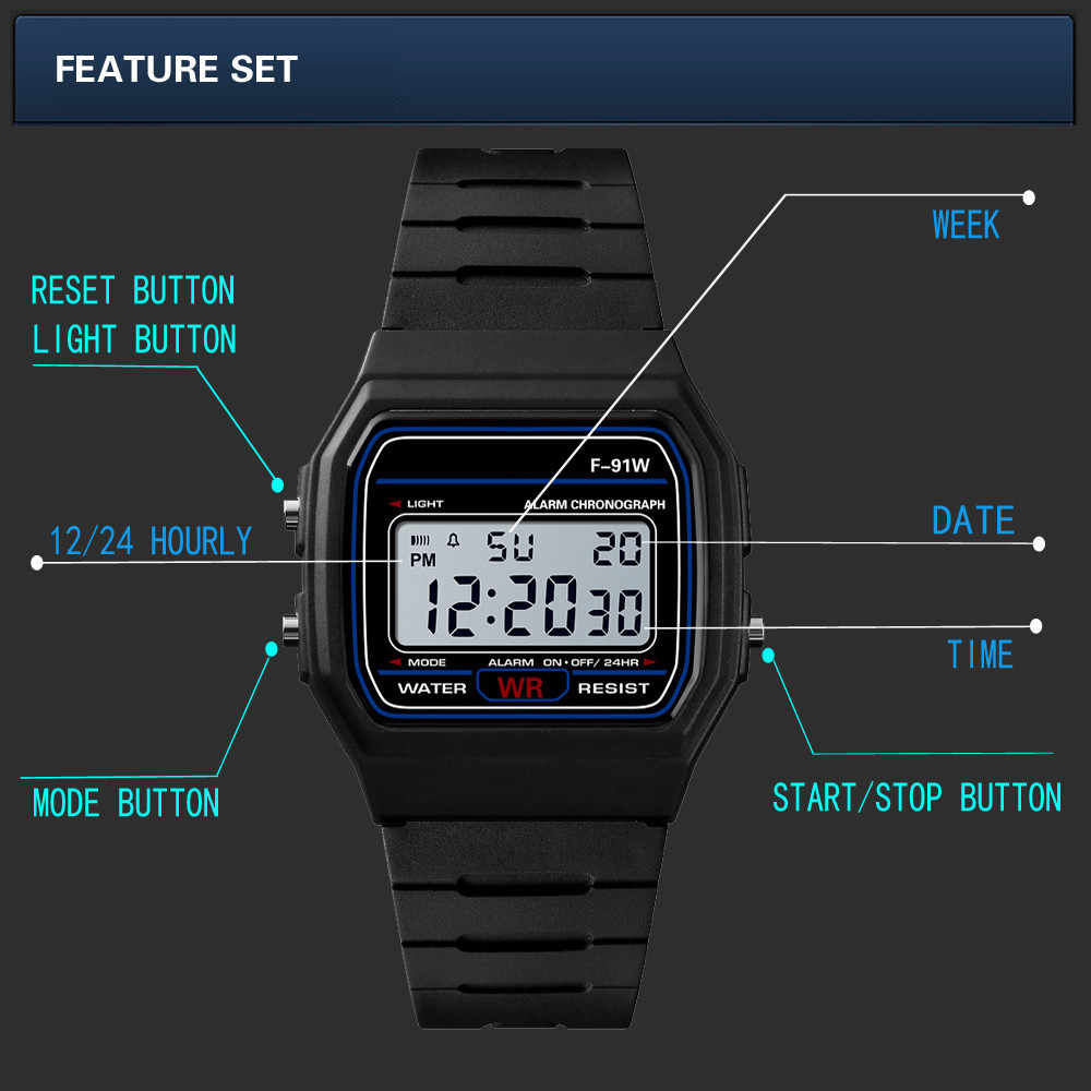 Mężczyźni analogowy cyfrowy wojskowy armia Sport LED wodoodporny zegarek na rękę luksusowy męski zegarek sportowy zegarki elektroniczne часы мужские