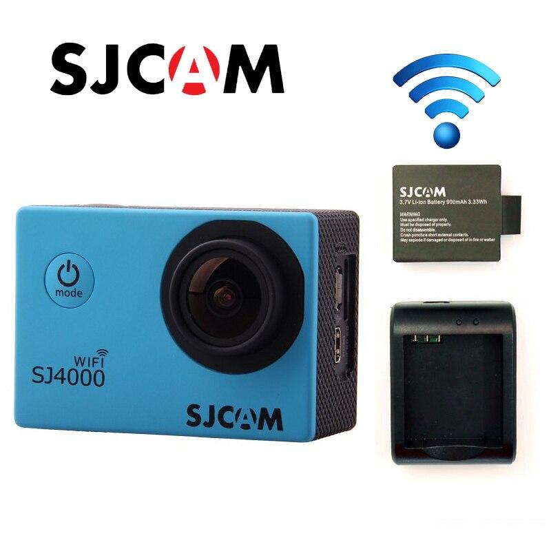 Original SJCAM SJ4000 WiFi Full HD 1080P 60FPS Diving 30M Waterproof Sports Action Camera Sport DVR