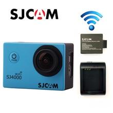 Original SJCAM SJ4000 WiFi Full HD 1080 P 60FPS Buceo 30 M Impermeable Deportes Cámara de la Acción del Deporte DVR Conector Set