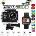 "4K Camera Wifi Action Camera 2"" LCD Screen 16MP Go Sport Camera Pro 170 Wide Angle Mini Camcorder Car DVR with Remote Control"