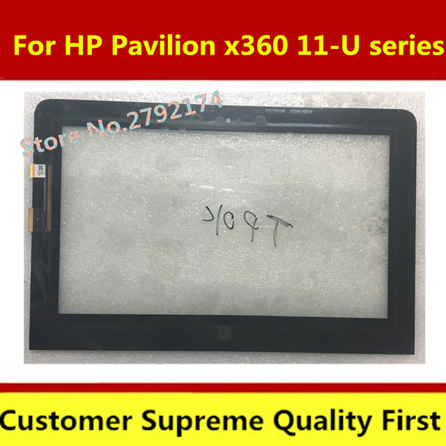 US $45 0 |Touch screen new For HP Pavilion x360 11 U series 11 U053TU Touch  Digitizer replacement M1 U001DX free shipping-in Laptop LCD Screen from