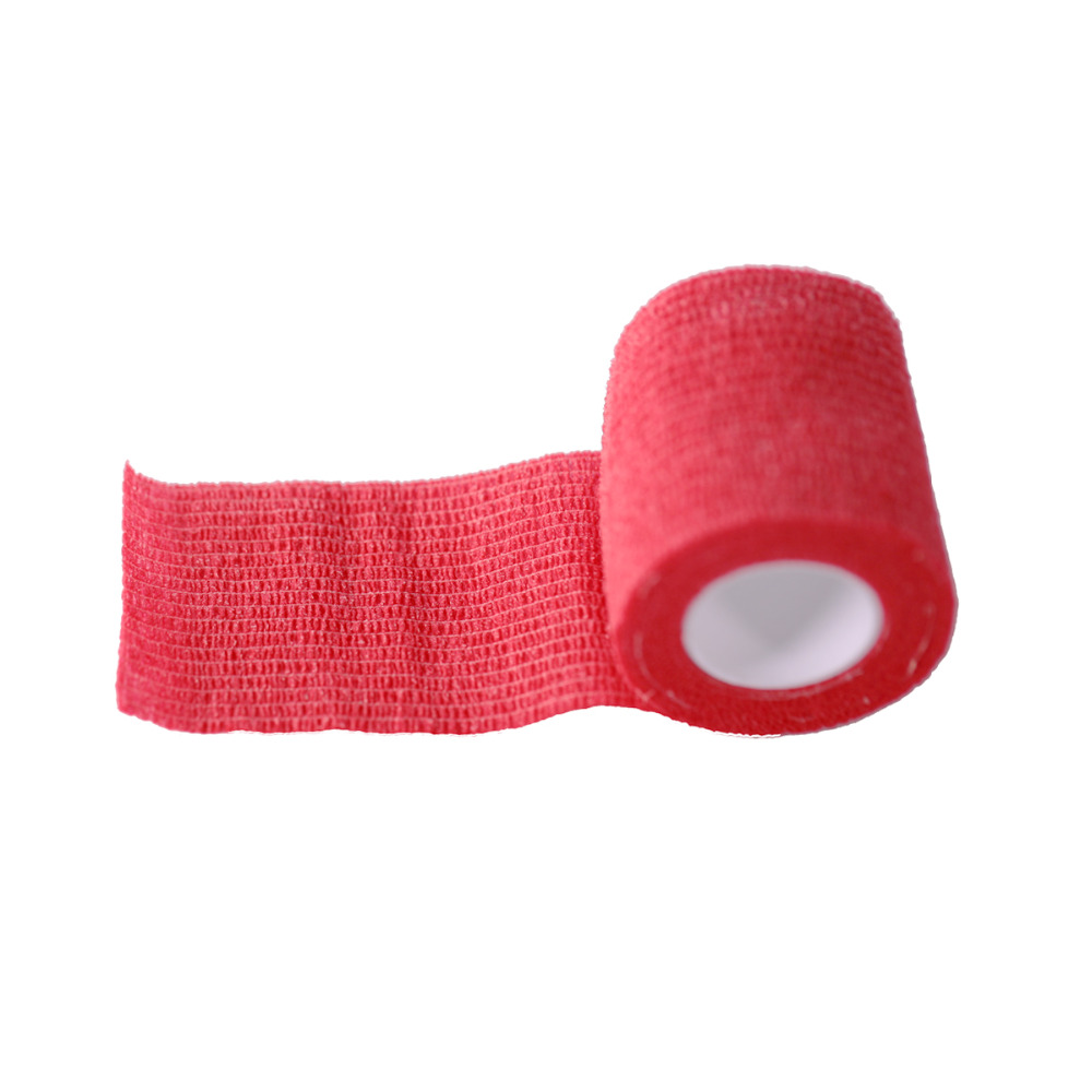 1 Roll 5cm Wide Tattoo Self Adhesive Elastic Bandage Wrap For Tattoo Strip Tubes Sports Tennis Elbow Bandage Tattoo Accessories