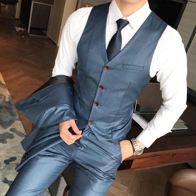 Banquet Gentleman Dress Up Male Fashion Business Hot Sales Slim Comfort DRESS 1