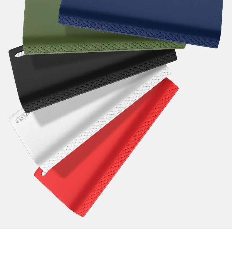 Силиконовый чехол для romoss sense 6, 20000 мА/ч, мобильный, мощный, мягкий, силиконовый, анти-столкновения, противоскользящий чехол, мобильный, мощный, кожаный чехол