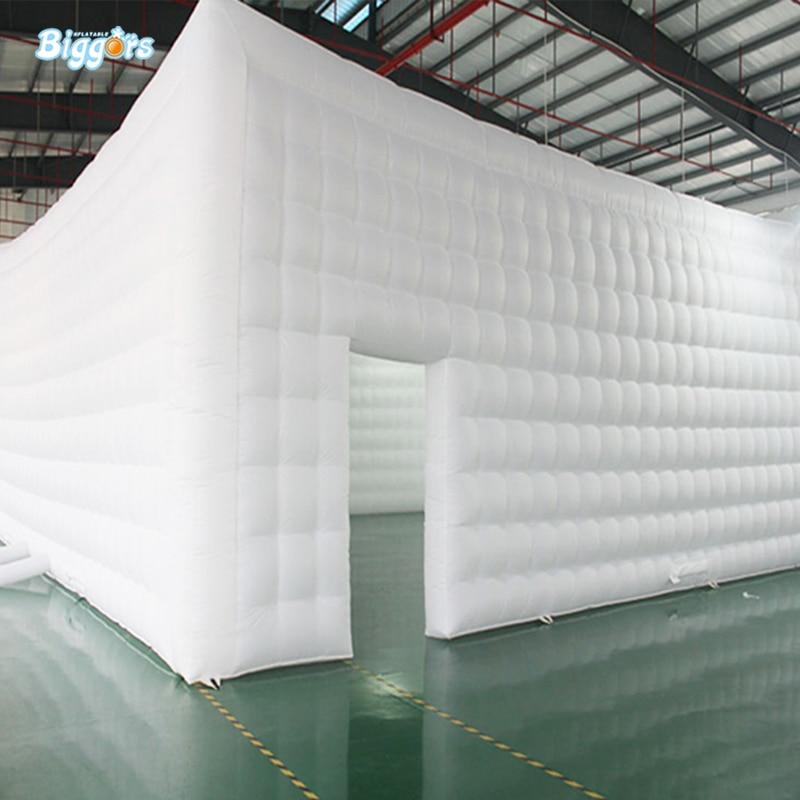 Tente gonflable blanche de tente carrée blanche de tente gonflable de taille géante rectangulaire à vendre