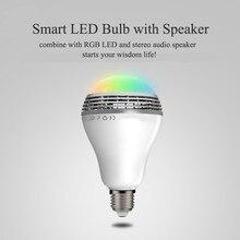Bluetooth 4.0 Wireless Smart LED bulb Beats stereo audio Speaker Light Bulb Lamp For iPhone Android 110V – 220V
