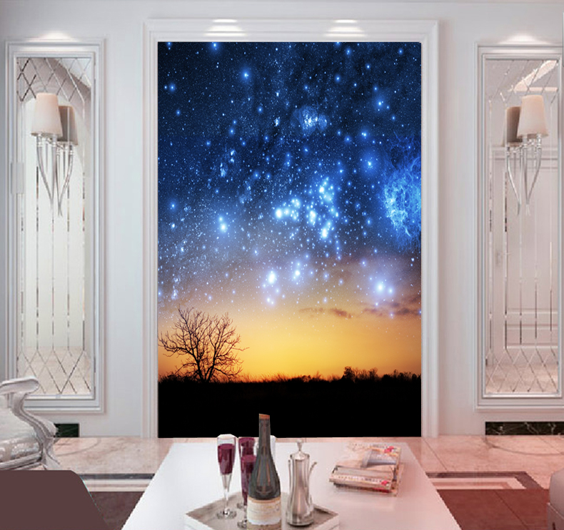 Star Universe large mural bedroom living room TV background 3D wallpaper 3D wallpaper simple sky ceiling custom any size mural wallpaper 3d stereoscopic universe star living room tv bar ktv backdrop bedroom 3d photo wallpaper roll