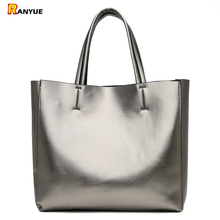 Solid Large Capacity Women Bags Casual Tote Women