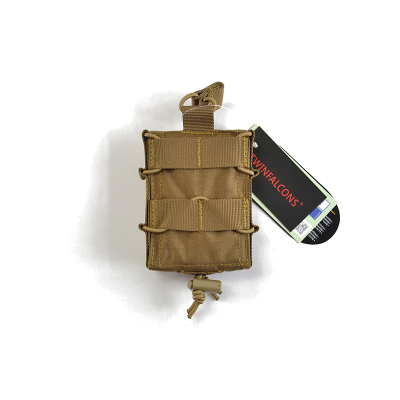 Delustered T-Y-R Tactical Adjustable 5.56 Single Mag Pouch For M4 M16 AR Rifle CORDURA TW-M037