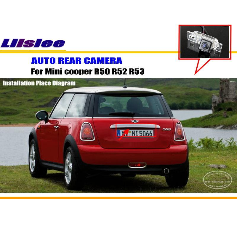 Liislee For Mini Cooper R50 R52 R53 R56 Reverse Back Up Camera Parking