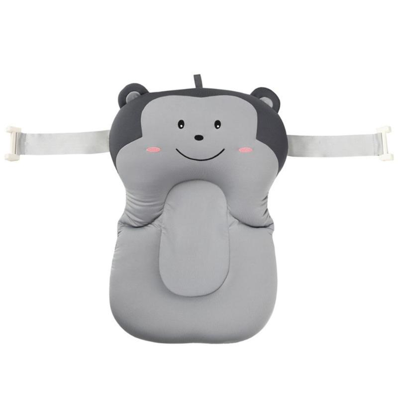 Портативная подушка для душа для младенцев, подушка для ванны для младенцев, нескользящий коврик для ванной для младенцев, безопасная подушка для ванной - Цвет: A6