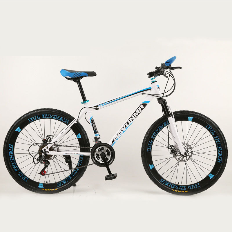 Mountain Bike Bicycle 24 Speed 40 Knife Shock Double Disc Brake Unisex Suitable For A Variety Of Road Conditions 2019 New