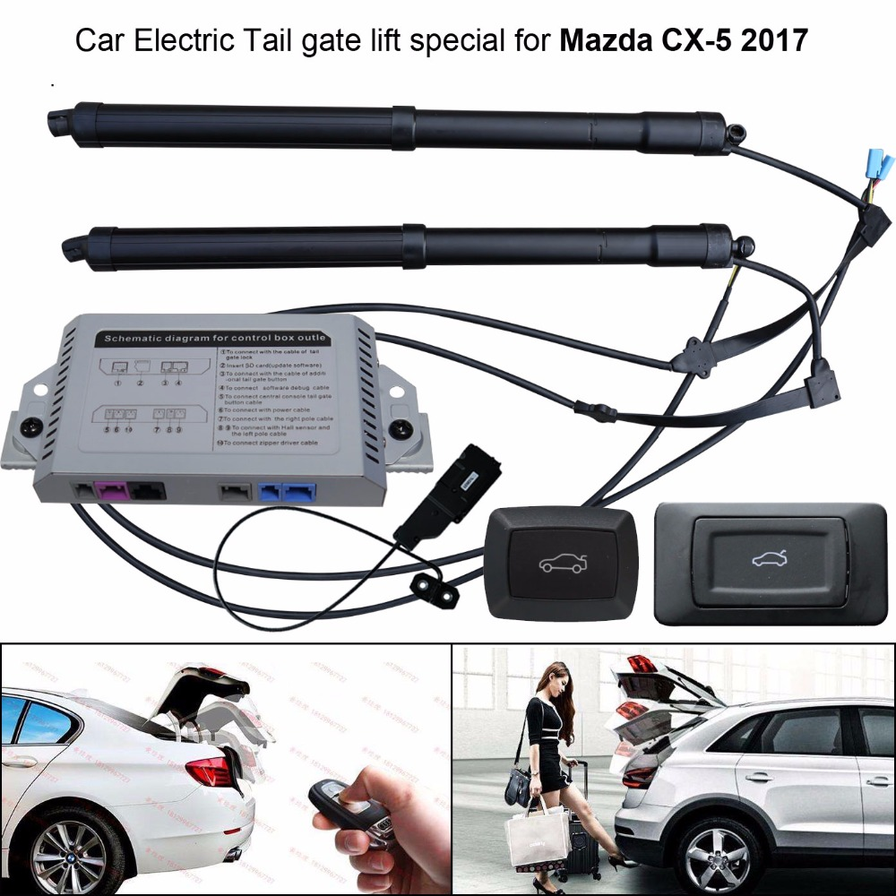 Car Electric Tail Gate Lift Special For Mazda CX-5 CX5 2017 Easily For You To Control Trunk