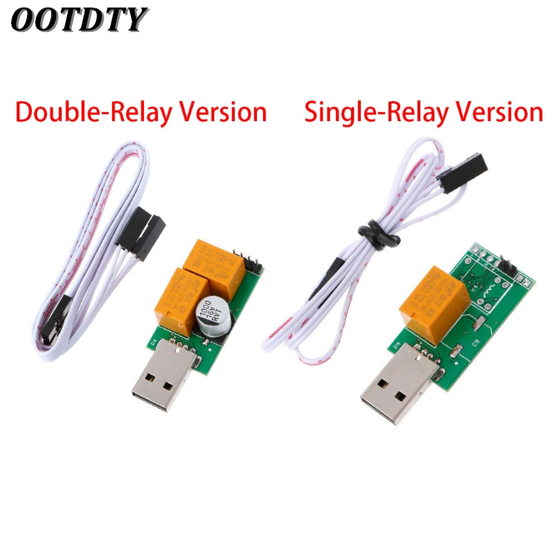OOTDTY USB Watchdog Card V2.0 Computer Unattended Automatic Restart Blue Screen Crash / Mining / Game / Server / LTC BTC Miner