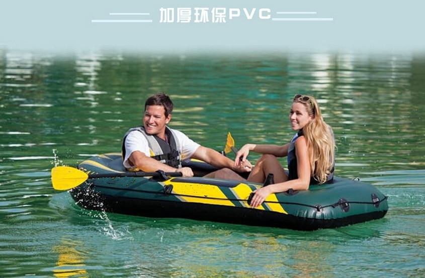 Botes de goma, kayaks, grueso rafting barco inflable barco de pesca