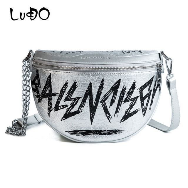 072877c5e792 LUCDO Fashion 2018 Handy Fanny Pack Waistband For Waist Bag For Women  Messenger Bags Belt Leather