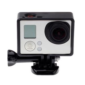 Image 2 - Für GoPro Zubehör GoPro Hero 4 3 + 3 Schutzhülle Grenze Rahmen Fall Camcorder Gehäuse Case Für Go Pro Hero4 3 + 3 Action Kamera