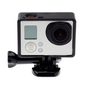 Image 2 - ملحقات GoPro لـ GoPro Hero 4 3 + 3 إطار حماية الحدود غلاف كاميرا الفيديو الإسكان لكاميرا Go Pro Hero4 3 + 3 Action