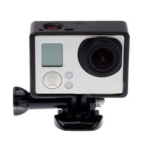 Image 2 - Gopro 액세서리 용 gopro hero 4 3 + 3 보호용 테두리 프레임 케이스 go pro hero4 용 캠코더 하우징 케이스 3 + 3 액션 카메라