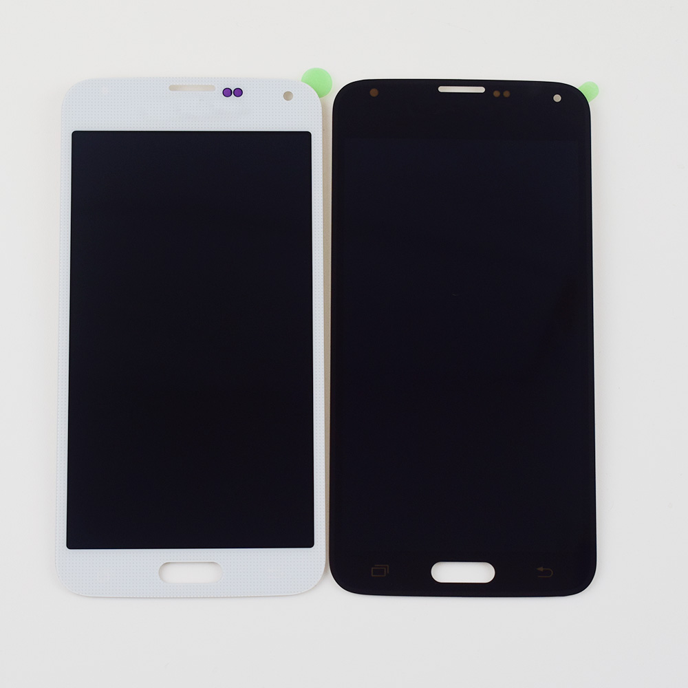 LCD For Samsung <font><b>Galaxy</b></font> <font><b>S5</b></font> LCD Screen <font><b>G900</b></font> <font><b>SM</b></font>- G900F G900M G900P G900MD <font><b>Display</b></font> Panel + Touch Screen Digitizer Sensor Assembly image