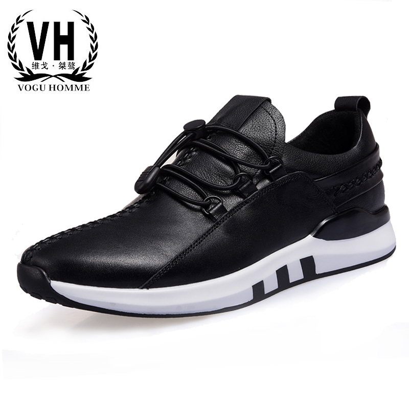 In the spring of 2017 male leather shoes sports men shoes breathable shoes all-match  breathable sneaker 2017 spring
